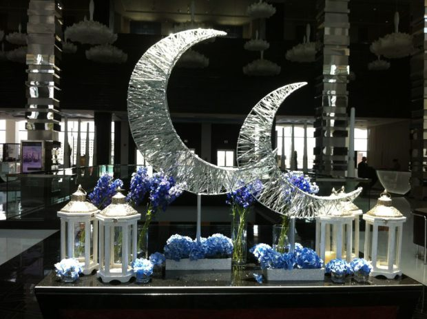 How to live like an omani princess ramadan eid displays for Ramadan decorations home