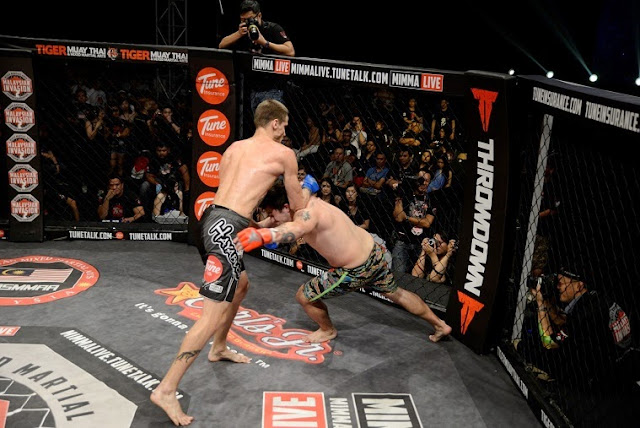 Will Chope vs Matt Pellino  MIMMA 2 grand finals