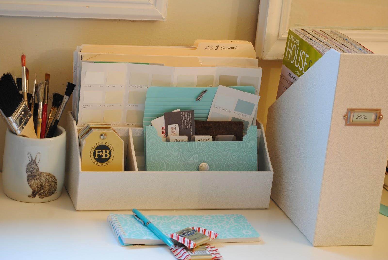 Razmataz martha stewart home office supplies - Martha stewart desk organizers ...