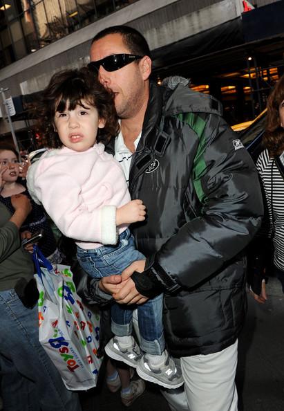 Adam Sandler's and Jacqueline Titone's beby kid Sadie Sandler