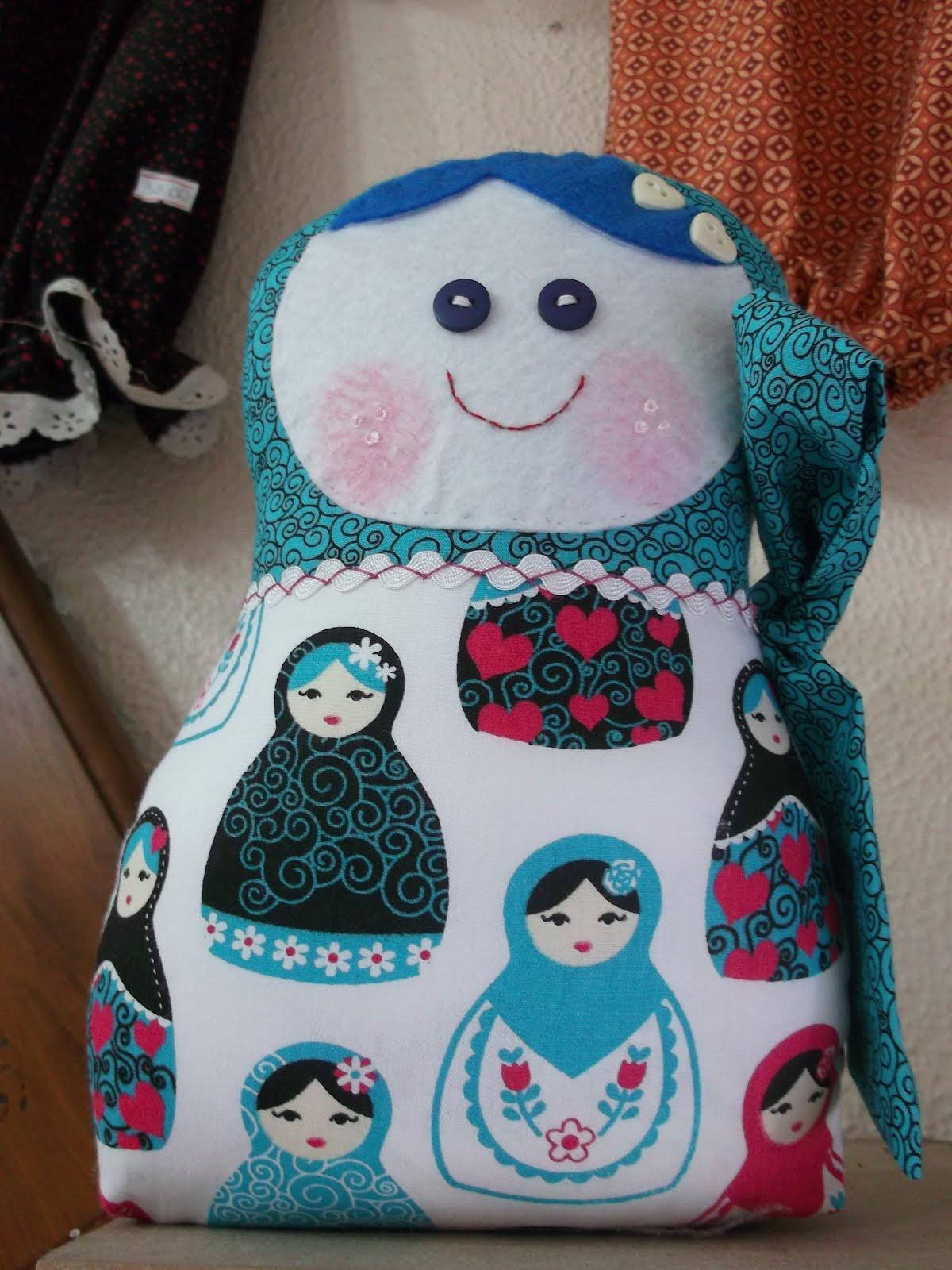 Atelier arte e magia boneca da sorte matrioska - Matrioska in terapia ...