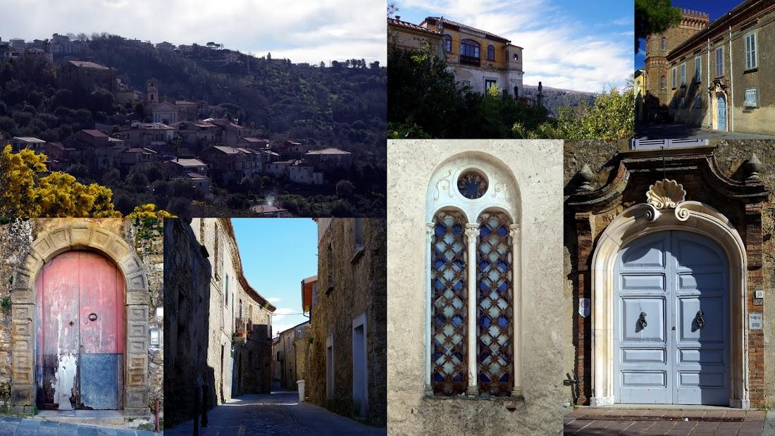 Die Altstadt von Torchiara im Cilento (Kampanien)