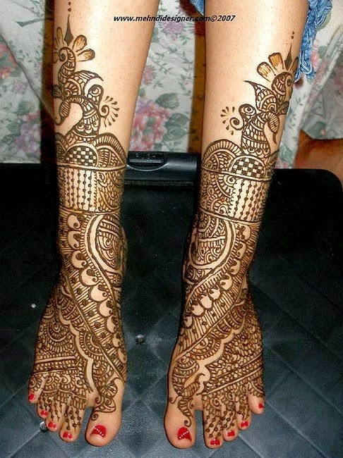 Eid Mehndi Designs for Hands and Feet