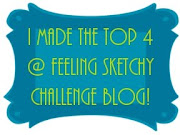 I made top 4 at Feeling Sketchy!