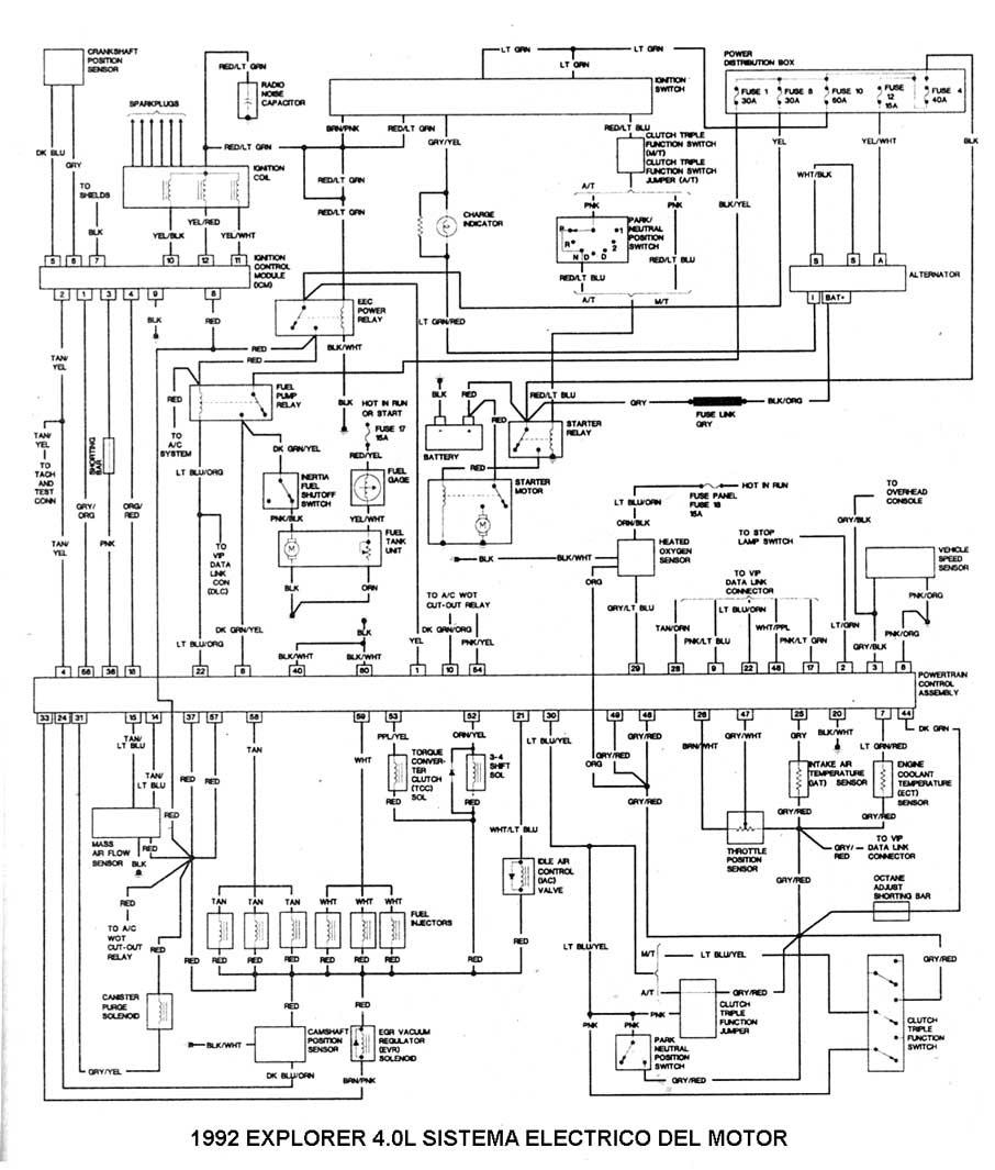 diagrama del los fusibles de f150 97