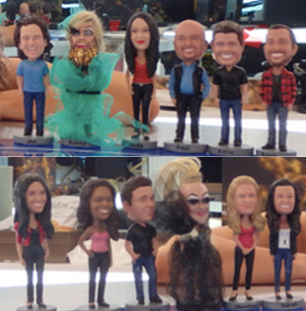 Big Brother Canada 2 Bobbleheads