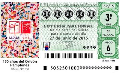Lotería 27 de junio de 2015