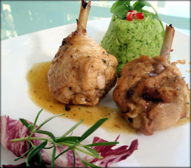 przepis na udka z kurczaka; przepis na brokuły