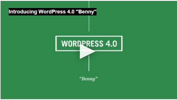 WordPress 4.0 Benny Dirilis Agar Semakin User-Friendly