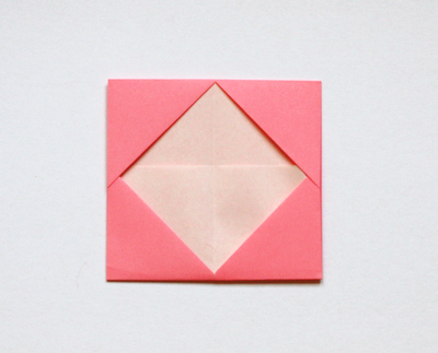 Nook Cranny Diy How To Make An Origami Business Card Holder