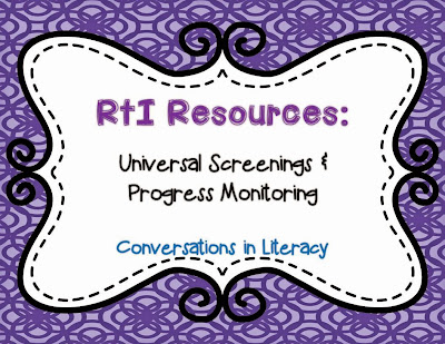 universal screenings and progress monitoring