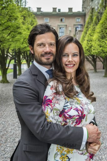Prince Carl Philip and Sofia Hellqvist photographed at the Royal Palace and Prince Carl Philip and Sofia Hellqvist gave interview with Swedish television channel TV4