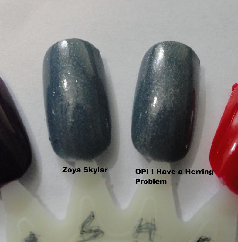 Zoya Bevin Vs Wednesday Nails Never Fai...