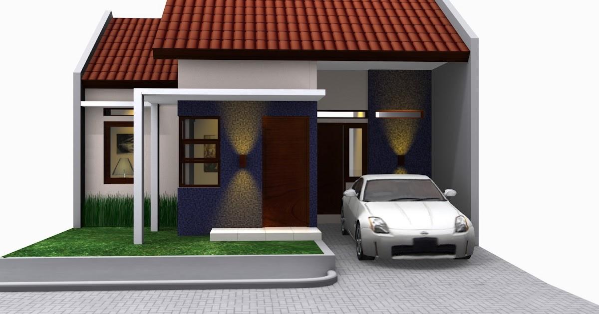 contoh gambar rumah minimalis type 45