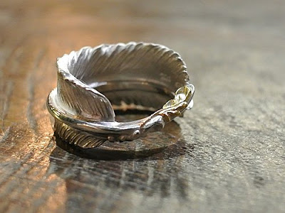 legend x dress code limited feather ring