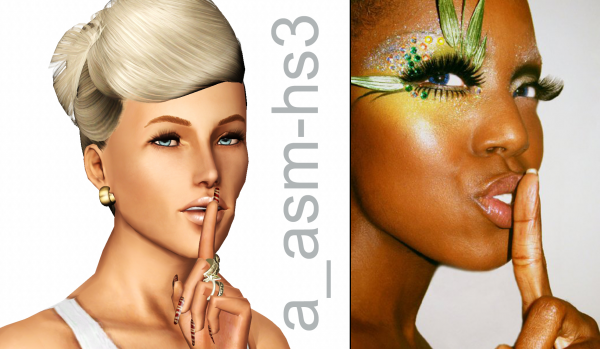 Empire sims 3 sf headshots pose pack by asia shamecca