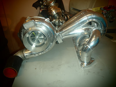 SR20 Custom Turbo Exhaust Manifold