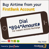 How to Buy Airtime Via First Bank Top Up Code