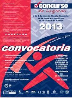 Resultados Convocatoria COMIPEMS 2013 UNAM IPN DGETA COLBACH DGB CONALEP SE UAEM DGETI publicacion registro 26 de Julio