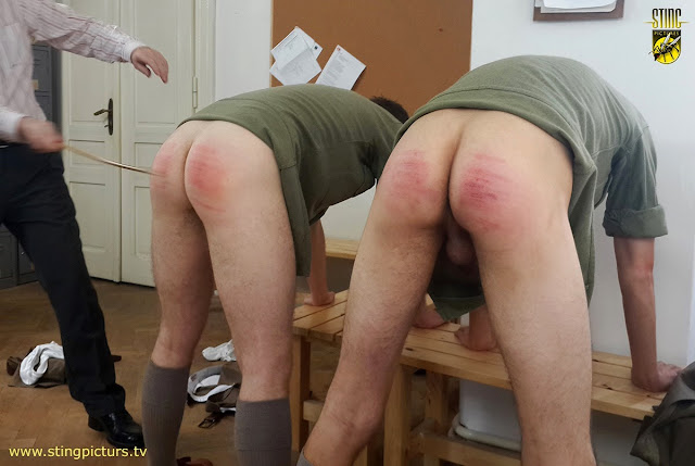 The Spank and cane with you