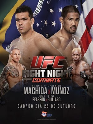 Assistir Online UFC Fight Night: Machida vs. Muñoz Luta Link Direto Torrent