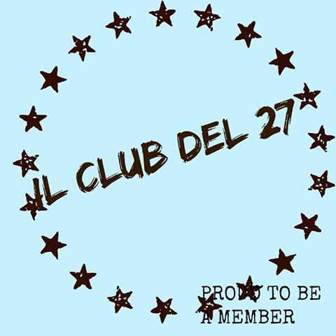 Partecipo al club del 27 ;)