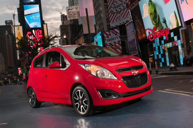 2013 Chevrolet Spark is the Subcompact Culture Car of the Year