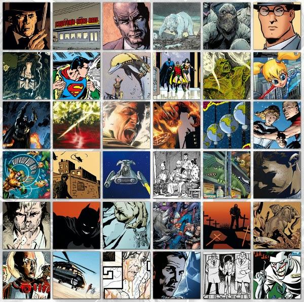 Concurso ECC Ediciones - mosaico cómics
