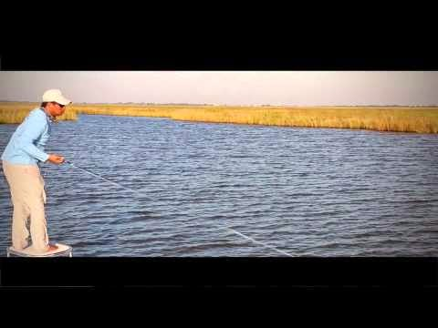 video peche en mer redfish