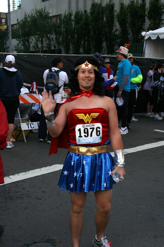 Wonder Woman before 100th Bay to Breakers