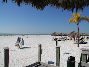 White sand beaches on the Gulf (marco island beach)