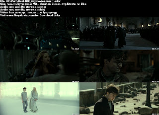 Harry Potter and the Deathly Hallows: Part 2 (2011) 720p BRRip Dual Audio 700MB