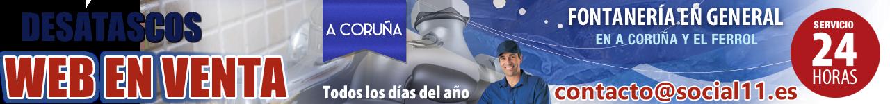 Desatascos en A Coruña · WEB EN VENTA