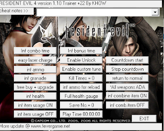 Download Trainer Resident Evil 4