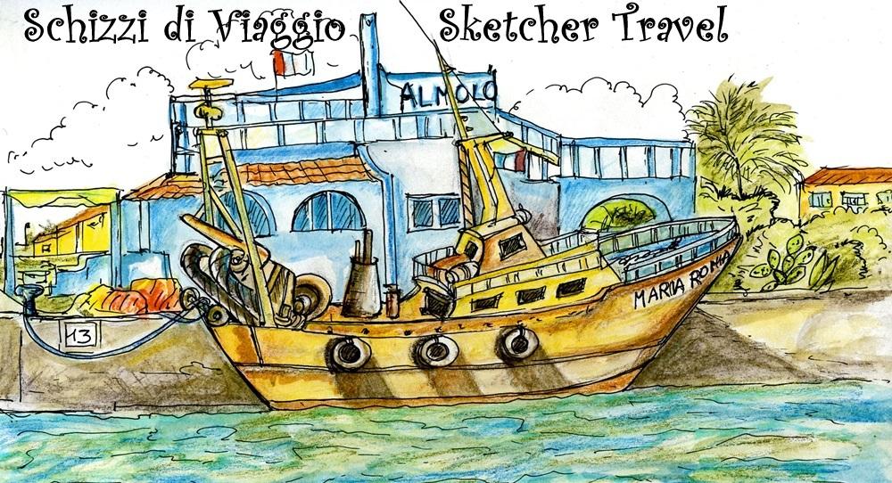 Schizzi di  viaggio  Sketcher Travel