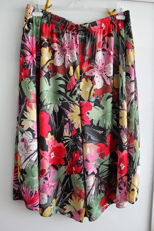 Culottes Floral Shorts Summer