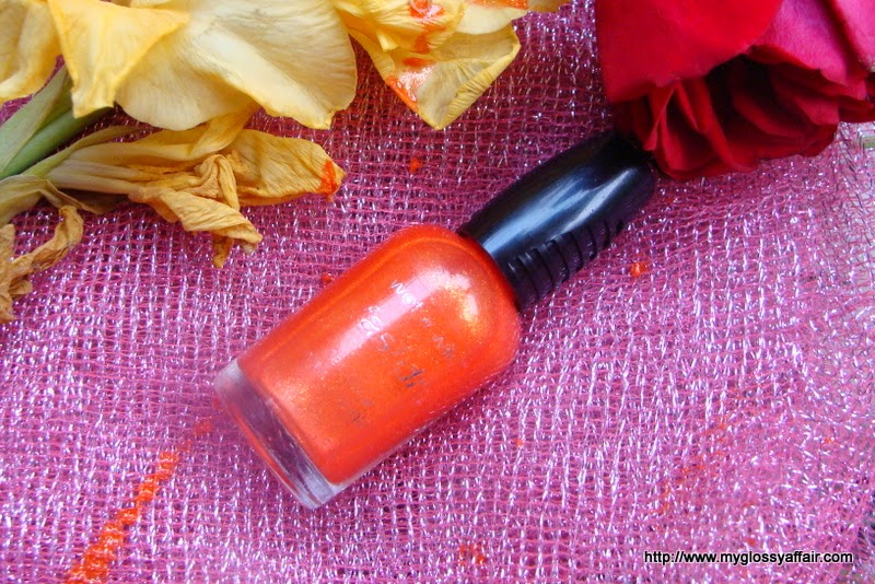 Wet n Wild Fast Dry Nail Color 9.0.2.1.Orange Review and notd