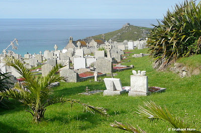 st ives cemetery cornwall