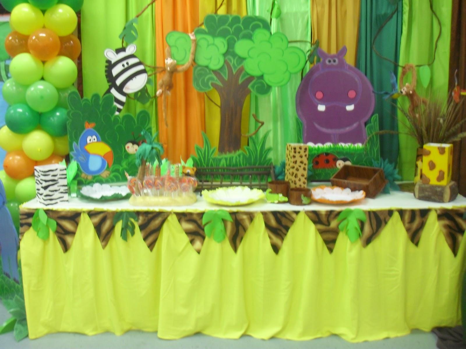 Ursula newman eventos fiesta infantil safari - Imagenes decoracion fiestas infantiles ...
