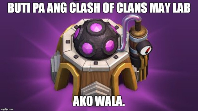Clash of Clans COC Hugot lines