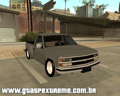 Chevrolet Silverado The Control para grand theft auto
