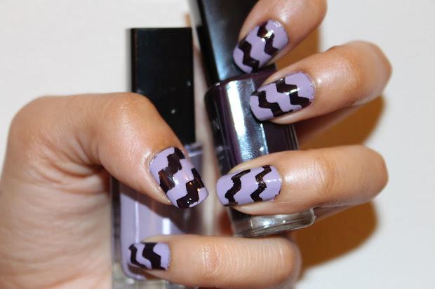 chevron nail art tutorial hashtag