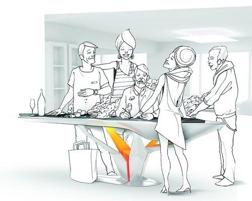 Cocina inteligente electrolux azdeco for Cocina inteligente