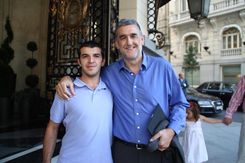 Daniel fotos con famosos deportistas varios - Lopez iturriaga hermanos ...
