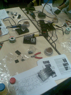 Building the Bugbrand WOM (Workshop Oscillator Machine)
