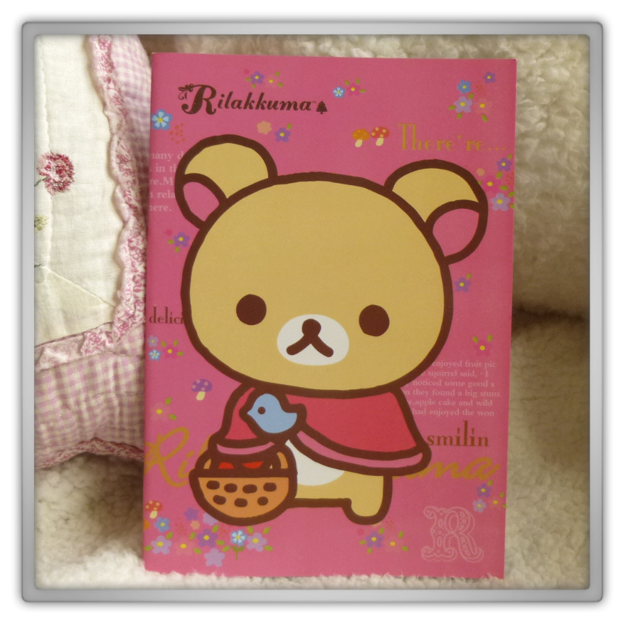 Blippo haul review shoplog rilakkuma korilakkuma notebook basket spring kawaii
