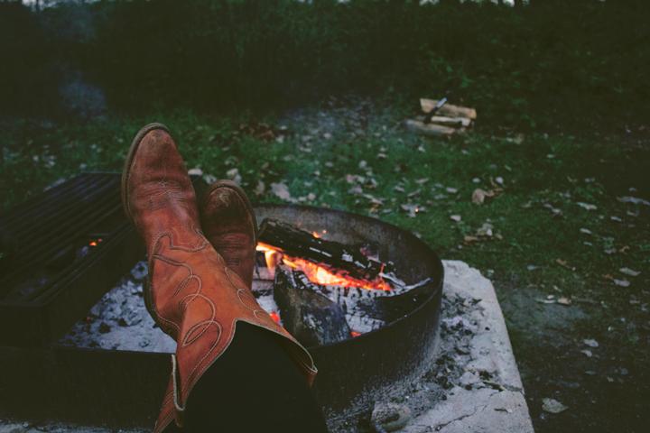 A Campfire Dinner