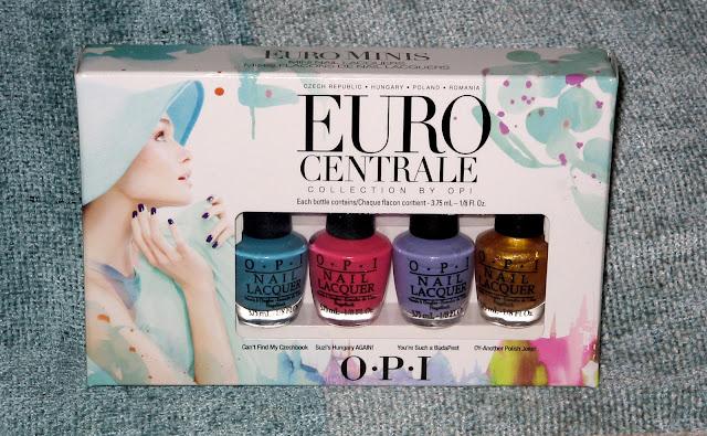 OPI Euro Centrale Mini Collection Box Set