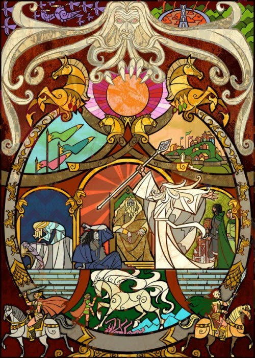 Art Vitraux de El Señor de los Anillos
