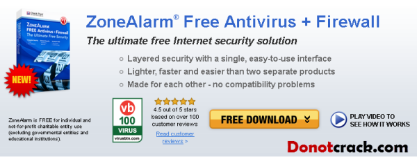 ZoneAlarm Free Antivirus Firewall